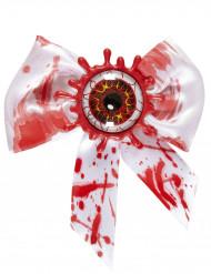 Pajarita con ojo sangriento