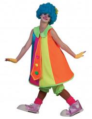 Disfraz de payaso colorido mujer