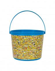 Cubo de plástico Emoji™