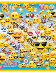 8 Bolsas de regalo plástico Emoji™ 18x23 cm
