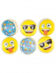 6 Pelotas saltarinas Emoji™
