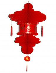 Farolillo chino rojo 80 cm