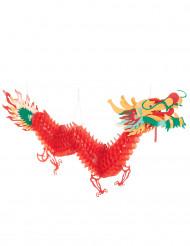 Decoración dragón rojo 2.5 m Año nuevo chino