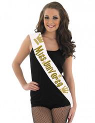 Banda Miss Univers 80 x 14 cm