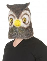 Máscara de búho látex adulto