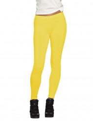 Legging amarillo adulto