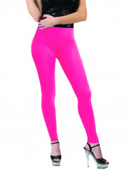 Legging rosa fluorescente adulto