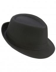 Sombrero borsalino negro adulto
