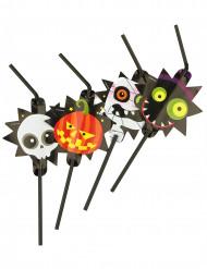 8 Pajitas monstruos Halloween