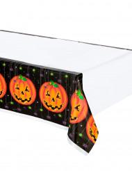 Mantel de plástico calabazas Halloween
