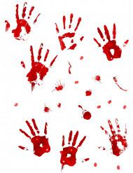 Pegatinas murales sangrientas Halloween
