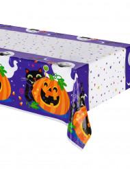 Mantel de plástico calabaza y compañía Halloween
