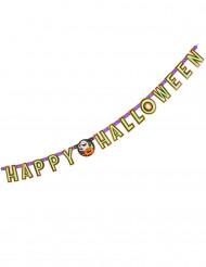 Guirnalda articulada calabaza y compañía Happy Halloween