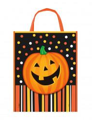 Bolsa caramelos calabaza Halloween