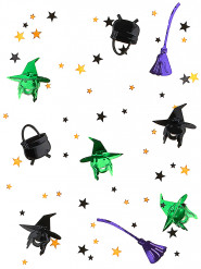 Confetis brujas Halloween