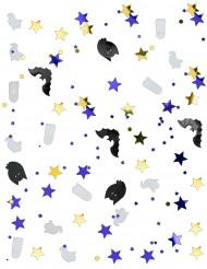 Confetis fantasma y murciélago Halloween