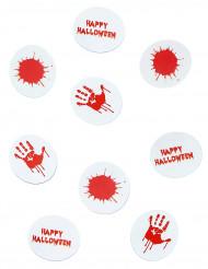 Confetis de mesa papel ensangretado Halloween