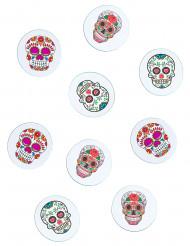 Confetis de mesa papel Día de los Muertos