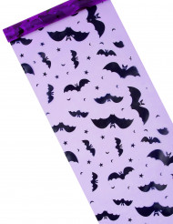 Camino de mesa murciélago Halloween