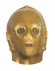 Máscara flexible C3PO™ adulto Star Wars™