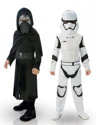 Pack de disfraces Kylo Ren & StormTrooper niño - Star Wars VII™
