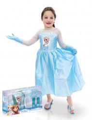 Disfraz de Elsa con accesorios niña Frozen™ caja