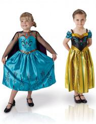 Pack 2 disfraces clásicos Elsa y Anna Frozen™