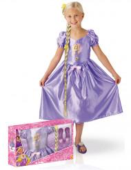 Disfraz niña Rapunzel™ clásico con accesorios caja