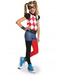 Disfraz clásico niña Harley Quinn™ - Superhero Girls™