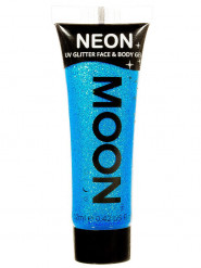 Gel cuerpo y cara azul brillante UV 12 ml Moonglow ©