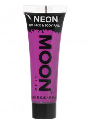 Gel cara y cuerpo violeta UV Moonglow™ 12 ml