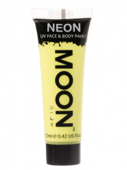 Gel rostro y cuerpo amarillo pastel UV Moonglow™ 12 ml
