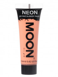 Gel cara y cuerpo naranja pastel UV Moonglow™ 12 ml