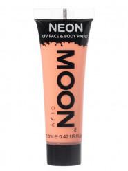 Gel cara y cuerpo naranja pastel UV Moonglow™ 12 ml