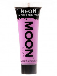 Gel cara y cuerpo violeta pastel UV Moonglow™ 12 ml