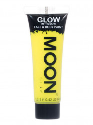 Gel cuerpo y rostro amarillo fluorescente 12 ml Moonglow ©