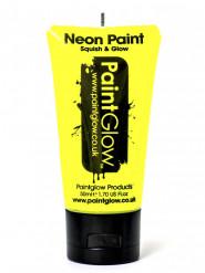 Gel cuerpo y cara amarillo fluorescente UV 50 ml