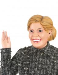 Máscara humorística de látex Reina Máxima adulto