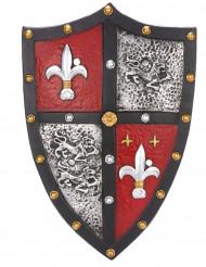 Escudo de caballero medieval adulto