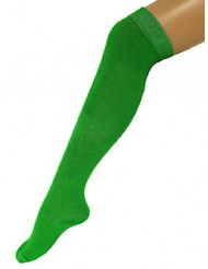 Calcetines largos verdes 53 cm adulto