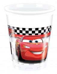 8 Vasos de plástico Cars Fórmula™