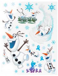 Decoración de ventanas Olaf Frozen™ 20x30 cm