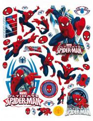 Decoración de ventanas Spiderman™ 42x30 cm