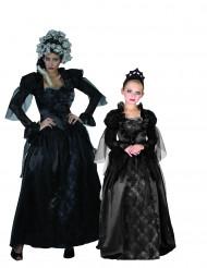 Disfraz de pareja condesa gótica madre e hija Halloween
