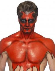 Maquillaje látex líquido rojo con esponja 59ml