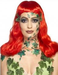 Maquillaje látex líquido verde con esponja 59ml