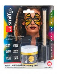 Maquillaje látex líquido amarillo