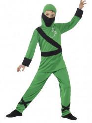 Disfraz de ninja verde niño