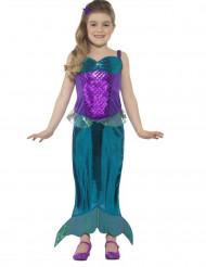 Disfraz de sirena mágica niña