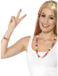 Pulsera y collar Hippie